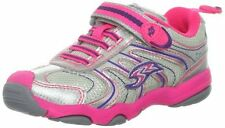 New STRIDE RITE Athletic Shoes Sterling Pink Gray Silver 5 M
