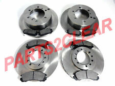 PAJERO FRONT /& REAR BRAKE DISCS /& PADS SET FULL KIT COMPLETE NEW 91-00