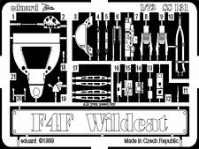 Eduard 1/72 F4F Wildcat grabado para Hasegawa # SS131