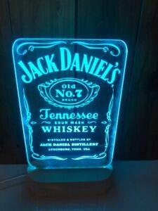 Customized Jack Daniels LED sign light 240mm x 140mm