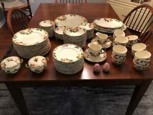 Johnson Bros. China Pieces - Peach Bloom Pattern - 1955 to 1960