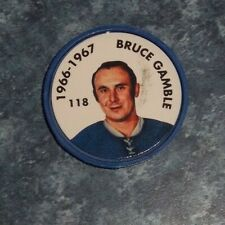 Bruce Gamble Parkhurst Coin 1966-67 issued 1995-96 # 114 group 2