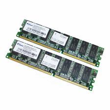 Elixir 512MB Kit (2 x 256MB) PC3200 184-Pin DDR Desktop RAM M2U25664DS88B3G-5T