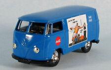 LLEDO 1955 VW T2 Van Coca-Cola (Blue) 1/64 Scale Diecast Model ULTRA-RARE!