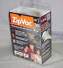Zip Vac ZipVac Food Storage System Hunting/Fishing Complete New in Box w/Bags