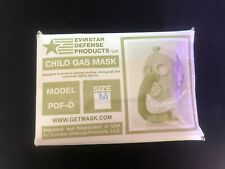 Childs Gas Mask - Size M - Used with Box - Evirstar Defense Products