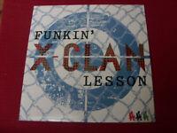 "X Clan:  Funkin' Lesson     12""   NEW VINYL EX SHOP"