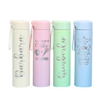 14oz Personalized Pastel Tumbler Thermos Stainless Steel Water Bottle