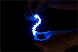 BLUE 9 LED STRIP MOTORCYCLE/CAR/BOAT/HOME ULTRA Bright POD LIGHT 12V Waterproof