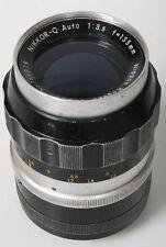 Nikon Nikkor-Q Auto 135mm, f/3.5 Non AI Mount
