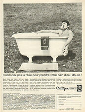 Publicité Advertising 1966  Culligan  un bain d'eau douce !