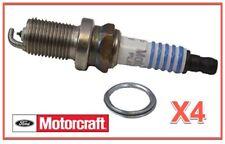 4 Spark Plugs OEM FORD Motorcraft SP497 AGSP32FMF6 Finewire Platinum