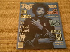 Rolling Stone Magazine February 6th 1992 - Jimi Hendrix David Cronenberg