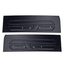Mustang Door Panel Black Pair Standard Interior 1969 | CJ Pony Parts