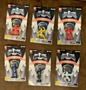 Mighty Morphin Power Rangers Collectible Figures Movie Edition Ninja Rangers