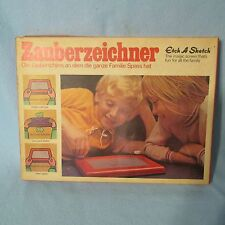 Etch A Sketch Rare German Version Vintage Mid-Century Art Collectible