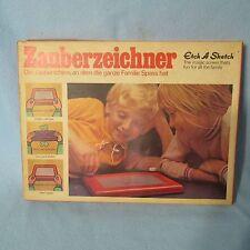 Vintage Mid-Century Art Etch A Sketch Rare German Version