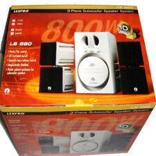 LexPro LS880 3D Sound 3 Piece Sobwoofer Speaker System 800W