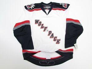 HARTFORD WOLF PACK AUTHENTIC AHL REEBOK EDGE 1.0 7187 HOCKEY JERSEY SIZE 54