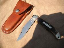 Schrade Old Timer (1250T) - Vintage Folding Knife w/ Sheath....FREE S&H!!!