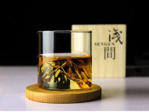 1x 200ml Creative Iceberg Mountain Design Whiskey Glass Liquor Spirit Crystal