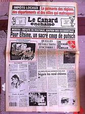 Le Canard Enchainé 6/10/1993; Impot Locaux, palmarés des régions qui matraquent