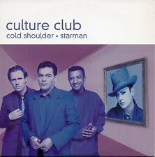 "CULTURE CLUB ""COLD SHOULDER / STARMAN"" PROMO CD SINGLE / BOY GEORGE  DAVID BOWIE"