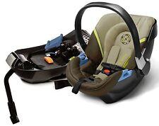 Cybex Aton 2 Infant Baby Car Seat & Base w/ Load Leg Limestone NEW