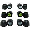 6 pair Jaybird Bluebuds X2 ear tips Jaybird X2 replacement ear tips memory foam