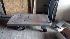 Antique Industrial Super Heavy Duty Moving Cart - IL PICKUP ONLY!