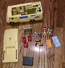 Playmobil Rv Set 3647 Family Camper Camping Motor Home Retired