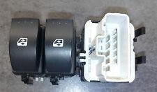 Bouton blanc Interrupteur commande lève vitre conducteur Laguna 2 8200015090