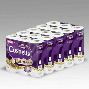 Cushelle Ultra Quilted 3-Ply Toilet Tissue, 45 Rolls BRAND NEW