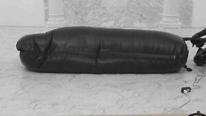 Latex Inflatable Sleep Sack Bag 4 Zippers Face Hole 2 Air Tube Customized 0.4mm