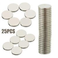 25pcs Puissant Ronde Disque  N52 Aimant Terres rares néodyme Magnétique 12 X 2mm