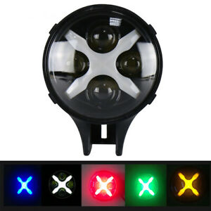 "1PCS 6"" 60W Round LED Spot Light X DRL Turn Signal Waterproof Off-road For Jeep"