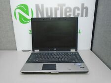 "HP EliteBook 6930p 14"" C2D 2.26GHz 4GB/250GB DVDRW Webcam Laptop 'NO BATTERY' AC"