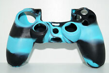 Turchese PLAYSTATION 4 ps4 IN SILICONE CONTROLLER JOYPAD Custodia Protettiva Cover Skin Case