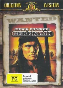 Geronimo- Chuck Connors New and Sealed DVD