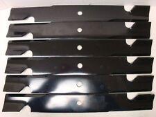 "Toro OEM 6 Pack Hi Flow Blades 60"" Z Master 108-1114  Blade # 105-7718-03"