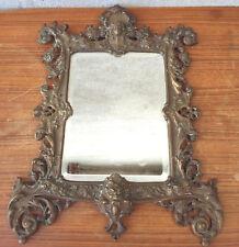 Magnificent antique mirror beveled