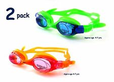 Speedo Kids Skoogles Intro Swim Goggle - 2 Pack  (Recommended Ages 4-7 yrs)