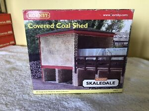 Hornby 00 Scale Covered Coal Shed R8634
