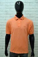 Polo Uomo SERGIO TACCHINI Taglia 52 Maglia Shirt Manica Corta Cotone Maglietta