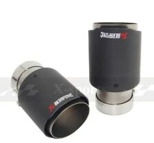 Akrapovic UNIVERSAL TIPS  Carbon Fibre Stainless Steel Exhaust Tip Tailpipe