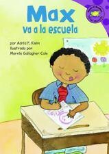 Max Va a La Escuela (Read-It! Readers En Espanol) (Read-It! Readers:-ExLibrary