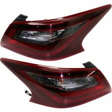 FIT FOR NISSAN ALTIMA SEDAN SR 2016 2017 PAIR TAIL LIGHTS TAILLIGHTS REAR LAMPS