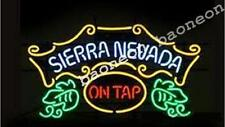 Welcome to Sierra Nevada On Tap BEER BAR PUB NEON LIGHT SIGN Fast Free Shipping