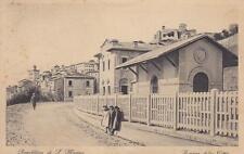 A7208) REPUBBLICA DI SAN MARINO, STAZIONE DELLA CITTA'. VIAGGIATA.