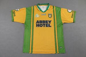 Donegal GAA Gaelic Football Jersey Shirt Size Adult L Azzurri Dun na nGall